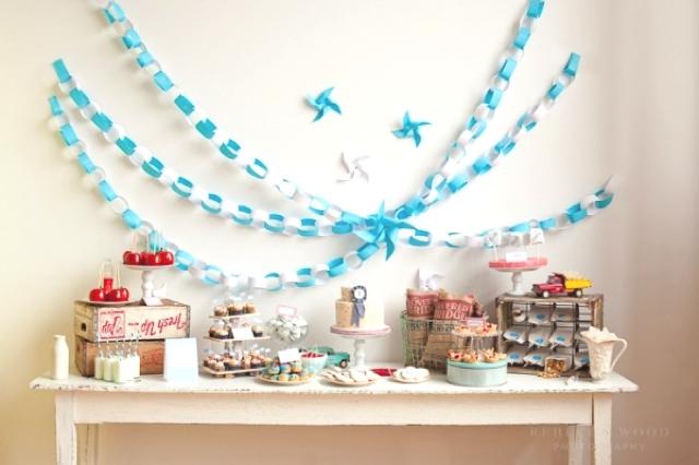 Оформление дня рождения на 1 год своими руками - Fin-dacha.ru