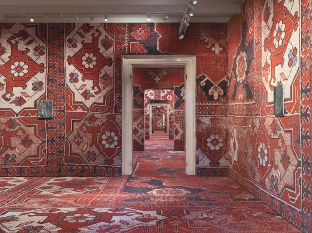 Rudolf-Stingel-at-Palazzo-Grassi-Venice-Italy-2013-yatzer-1