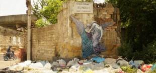 La coppa della morte Zilda street art  Naples