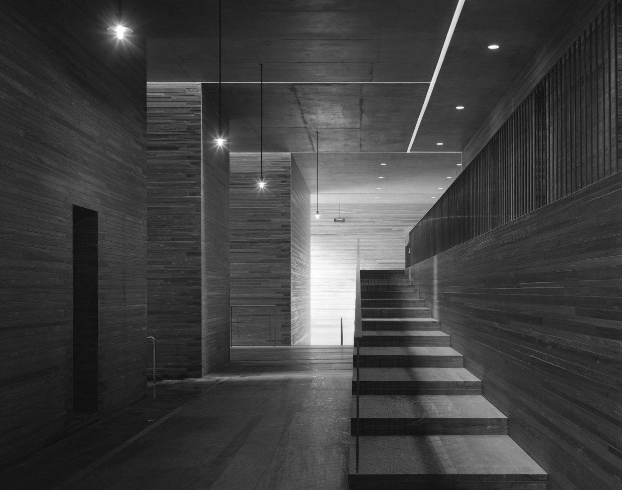 Terme di vals di peter zumthor for Mudroom a forma di l