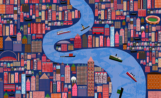 Anne-Wilson-Winding-through-the-city-Serco-Prize-2011