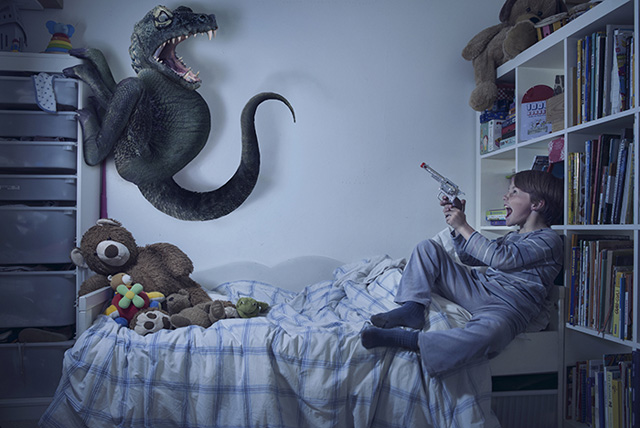 Bedroom-Monsters- Laure Fauvel