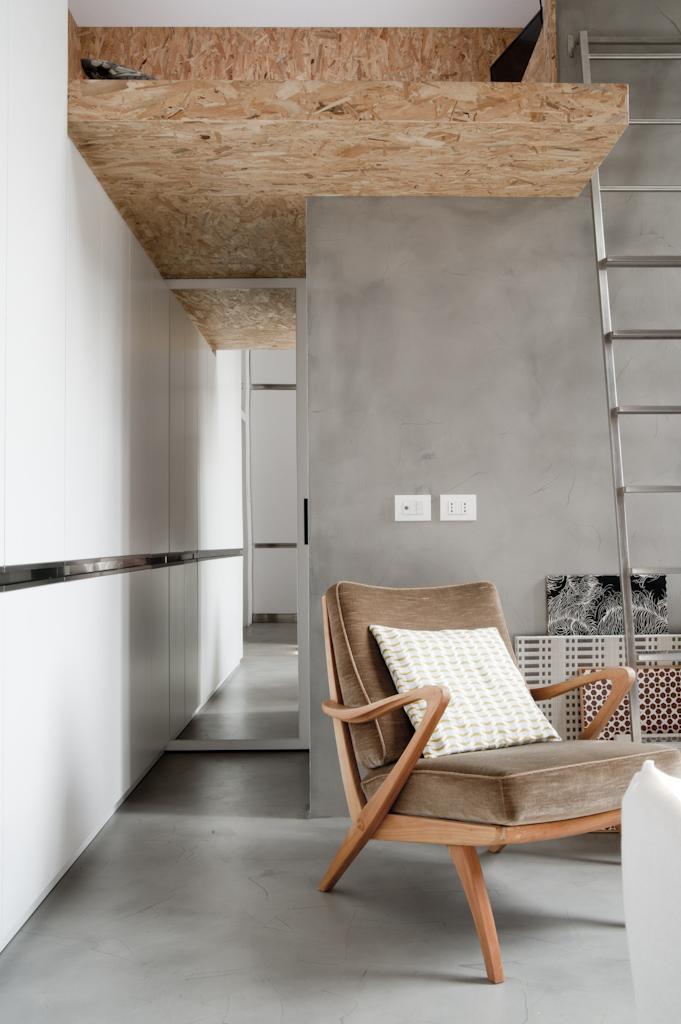 Un Mini Appartamento Di 30mq A Milano Ristrutturato Con