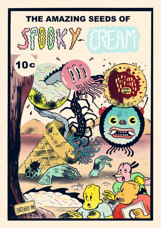 Spooky cream 72