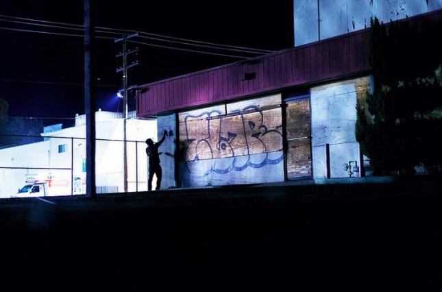 La street photography di Jag (落書き)
