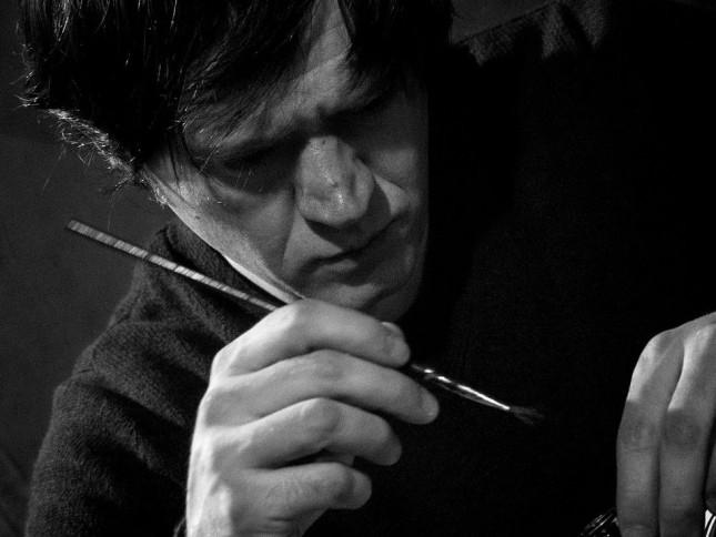 Cristiano Baricelli ritratto da Riccardo Tenca