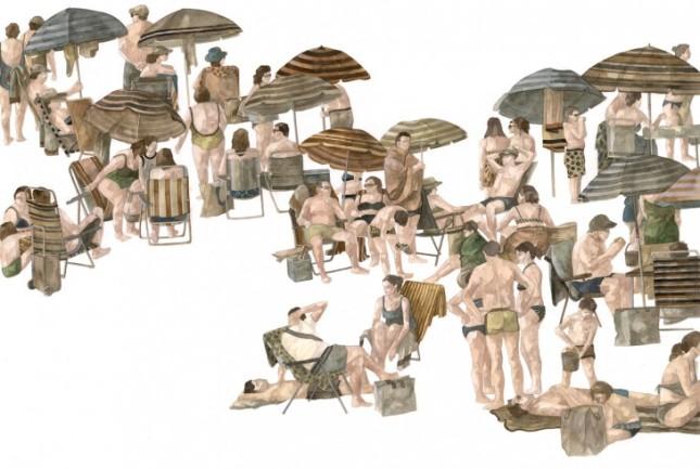 DCG_Hyuro_Convivencia-temporal-Temporary-Coexistence_Watercolor-on-paper_100x70-cm-730x490