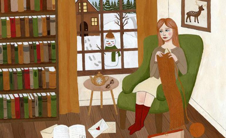 La solitudine rumorosa nelle ilustrazioni di Annya Karina